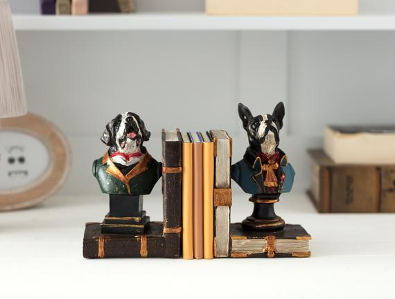 Chien 2'li Kitap Tutucu