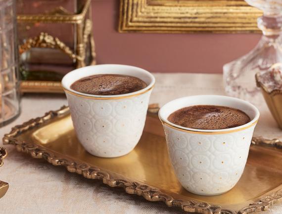 Craspedia Kahve Fincan Seti 6'lı