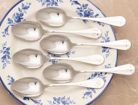 Fleur De Lys 6-Piece Dinner Spoon Set