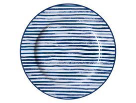 Lignes Servis Tabağı - Mavi