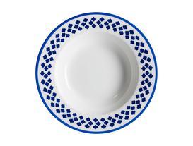 Maroc Çukur Tabak - Mavi