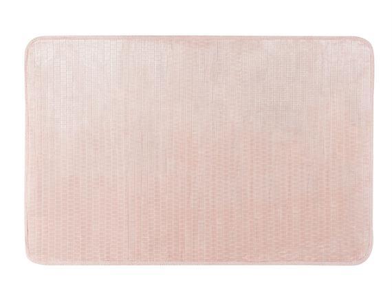 Jakar Flanel Banyo Paspası - Pudra - 100x150 cm