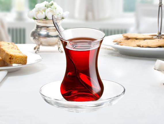 Trace  6'lı  Çay Tabağı
