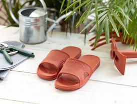 Eva Women's Striped Slippers