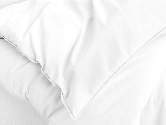 Therron King Size Vintage Yıkamalı Nevresim Takımı - Beyaz