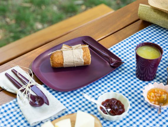 Spring Piknik Seti - Mürdüm