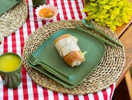 Spring Piknik Seti - Koyu Yeşil