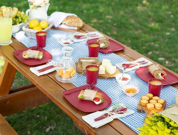 Spring Piknik Seti - Carmen Kırmızı
