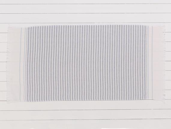 Robinetta Armürlü Plaj Havlusu - Lacivert - 75x150 cm
