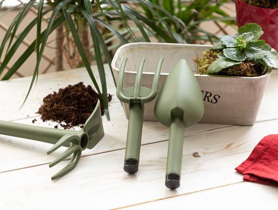 Aviron 3'lü Bahçe Seti - Yeşil