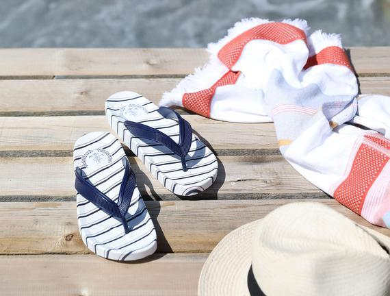 Marine Erkek Plaj Terlik - Lacivert