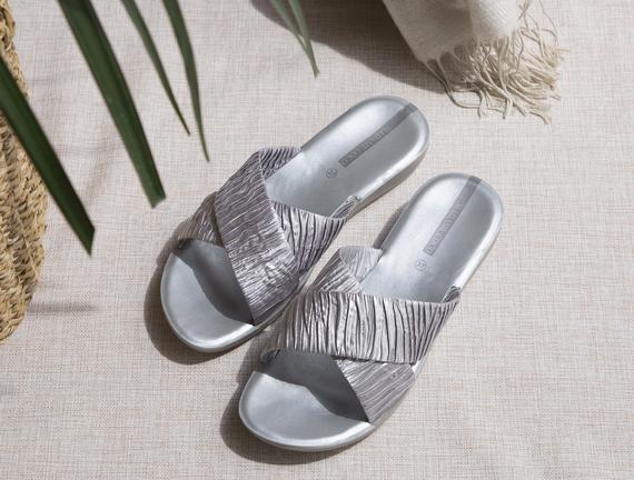 Eleanor Kadın Terlik - Silver