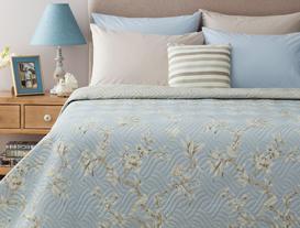 Pons Çok Amaçlı Tek Kişilik Yatak Örtüsü - Mavi
