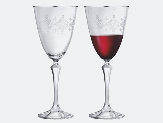 Quinn 6'lı Bohemia Kristali Şampanya Kadehi Takımı - Platin