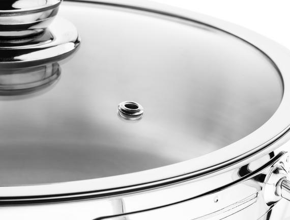 Sapphire Paslanmaz Çelik Kısa Tencere - 24 cm