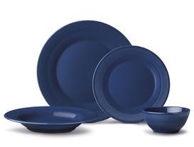 Clarita 16 Parça Yemek Takımı - Indigo