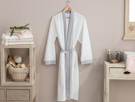 Platt Kimono Percale Bornoz