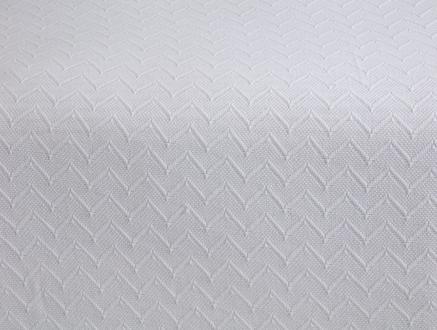 Lundi Tek Kişilik Yatak Örtüsü - Beyaz