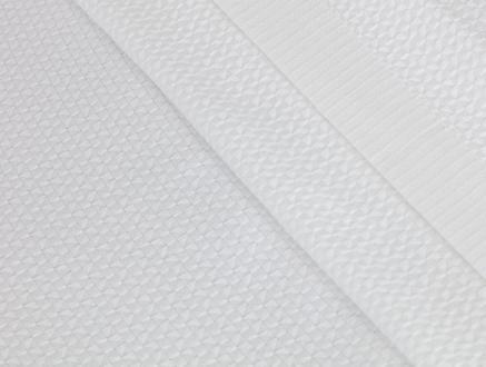 Mardi Tek Kişilik Yatak Örtüsü - Beyaz