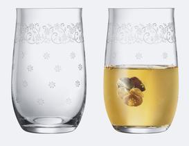 Lucinda 6'lı Bohemia Kristali Meşrubat Bardağı Takımı - STD