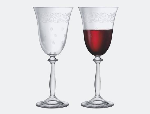 Lucinda 6'lı Bohemia Kristali Şampanya Kadehi Takımı - STD