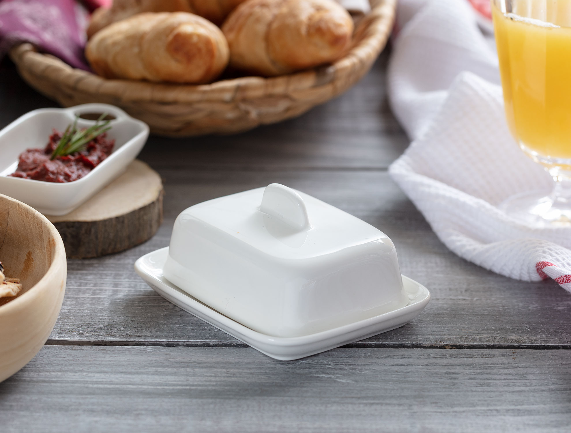 Petit Concept Kapaklı Mini Tereyağlık
