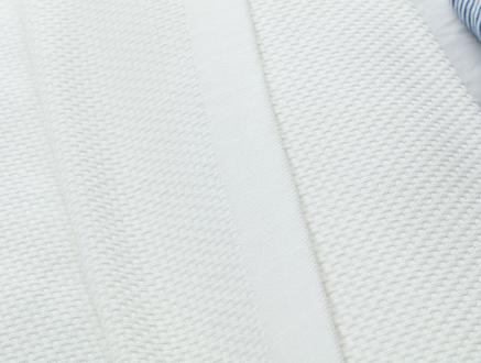 Mercredi Tek Kişilik Yatak Örtüsü - Beyaz