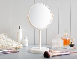 Masa Aynası Çift Taraflı - Ekru