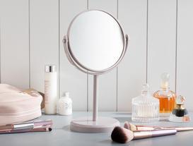 Masa Aynası Çift Taraflı - Mürdüm