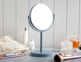 Masa Aynası Çift Taraflı - İndigo