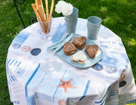 Daily Silinebilir Masa Örtüsü - Mavi