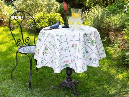Malloire Silinebilir Masa Örtüsü - Yeşil