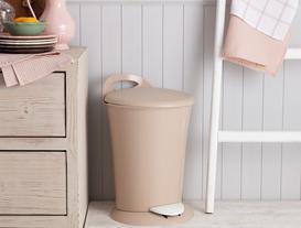 Vekony Pedallı Çöp Kovası - Soft Bej