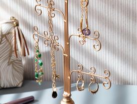 Arbre Dekoratif Takı Standı - Gold