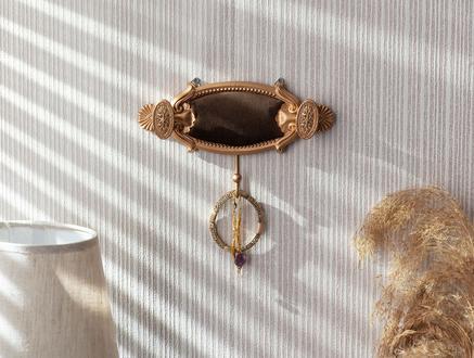 Versaille Tekli Dekoratif Takı Askısı - Kahverengi
