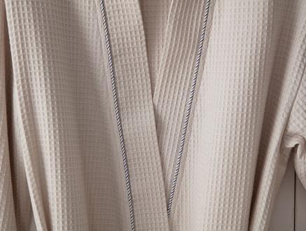 Leeroy Erkek Kimono Pike Bornoz - Bej