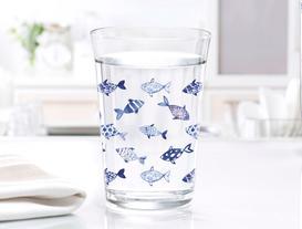 Fish 3'lü Su Bardağı