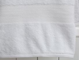 Roxane Banyo Havlusu - Beyaz