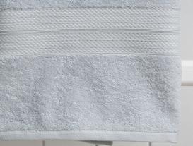 Roxane Düz Banyo Havlusu - Mavi