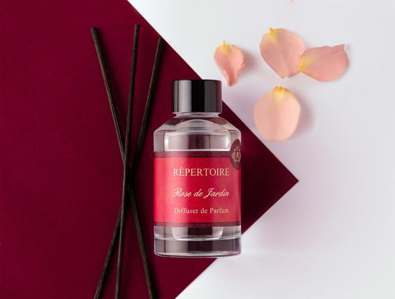 RÉPERTOIRE Çubuklu Oda Parfümü 90 ml Rose de Jardin (Gül Bahçesi)