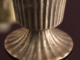 Valence Metal Vazo - Bronz