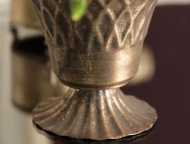 Thaise Metal Vazo - Bronz
