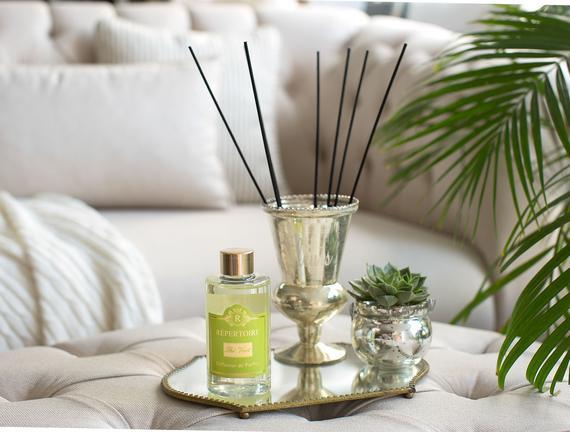 RÉPERTOIRE Çubuklu Oda Parfümü Refill (Ekonomik Şişe) 200 ml Thé Vert (Yeşil Çay)