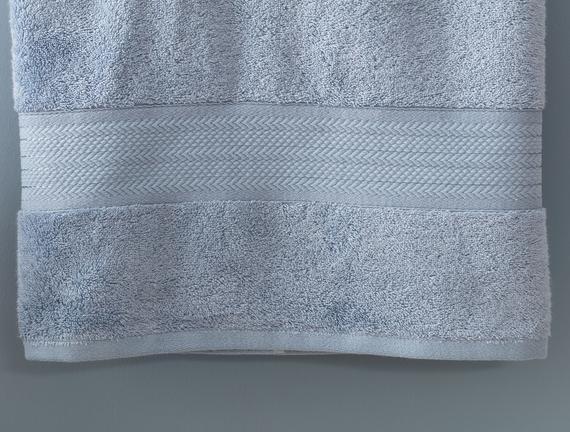 Abrial Banyo Havlusu - İndigo - 90x150 cm