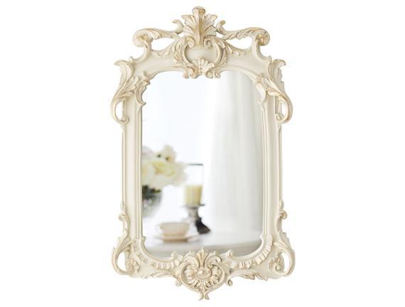 Nostalgie Ayna - Ekru