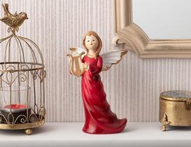 Majestueux Porselen Biblo - Kırmızı