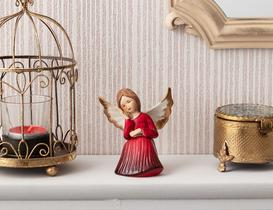 Dormir Porselen Biblo - Kırmızı