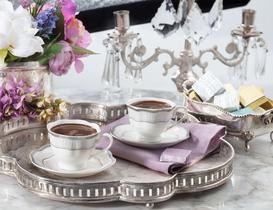 Raina New Bone China 2'li Fincan Takımı