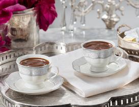 Pansy Kahve Fincan Takımı 4'lü