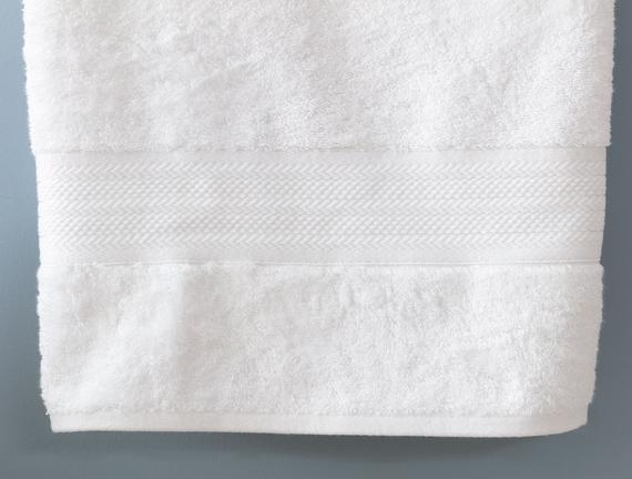 Abrial Banyo Havlusu - Beyaz